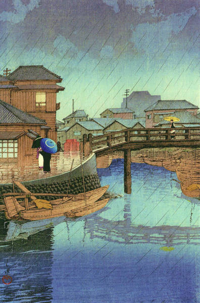 Wall Art - Painting - Selection Of Views Of The Tokaido, Shinagawa - Digital Remastered Edition by Kawase Hasui