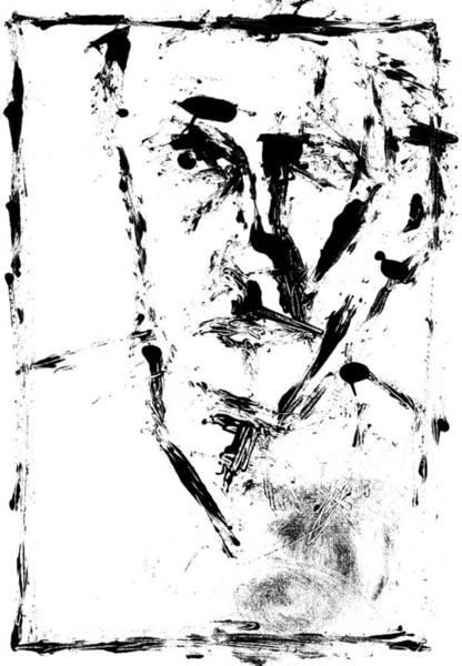 Digital Art - Self Digitally Whitened Paper by Artist Dot