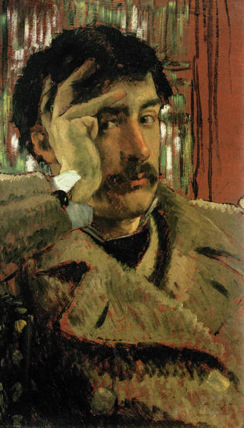 Wall Art - Painting - Self Portrait, 1865 by James Tissot