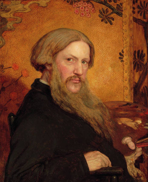 Wall Art - Painting - Self-portrait, 1877 by Ford Madox Brown