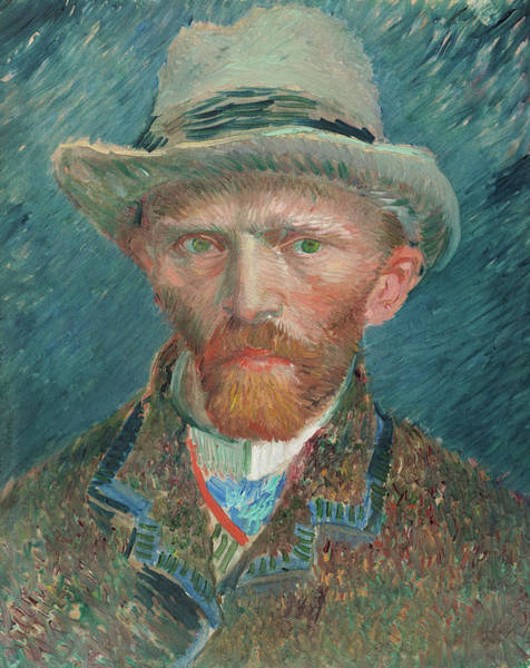 Wall Art - Painting - Self-portrait, 1888 by Vincent van Gogh