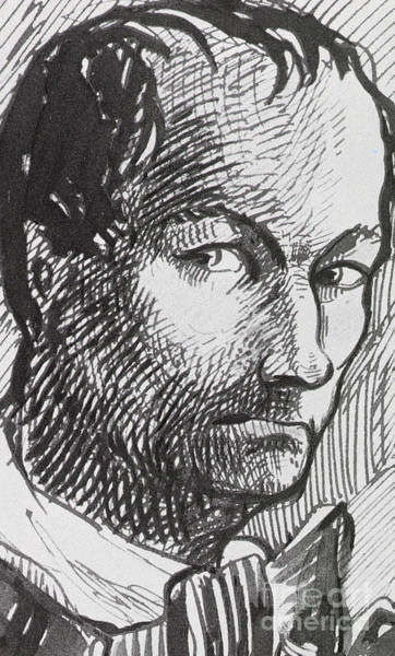 Wall Art - Drawing - Self Portrait, Circa 1860 by Charles Baudelaire