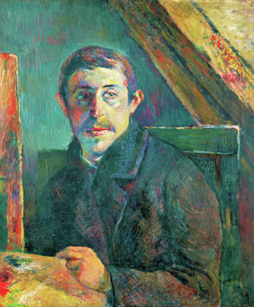 Wall Art - Painting - Self-portrait - Digital Remastered Edition by Paul Gauguin