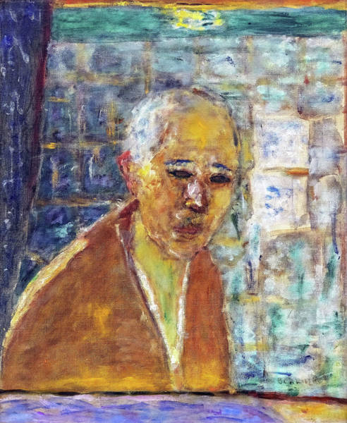 Believers Painting - Self-portrait - Digital Remastered Edition by Pierre Bonnard