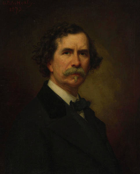 Painting - Self-portrait by George Peter Alexander Healy