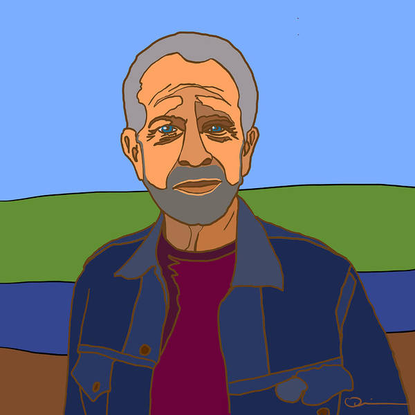 Digital Art - Self Portrait by Jeff Quiros