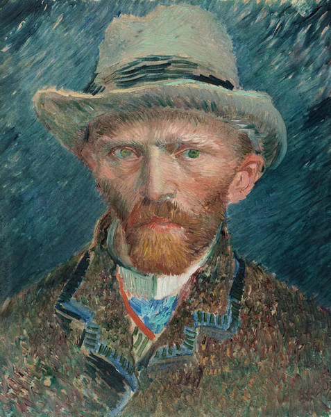 Painting - Self Portrait Of 1887  by Vincent van Gogh