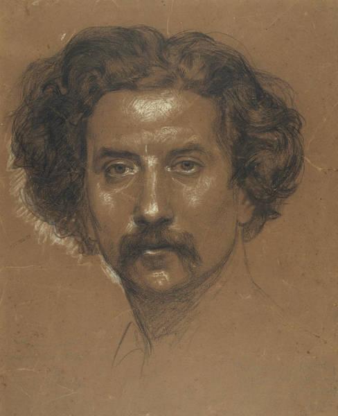Drawing - Self-portrait by Ramon Marti Alsina