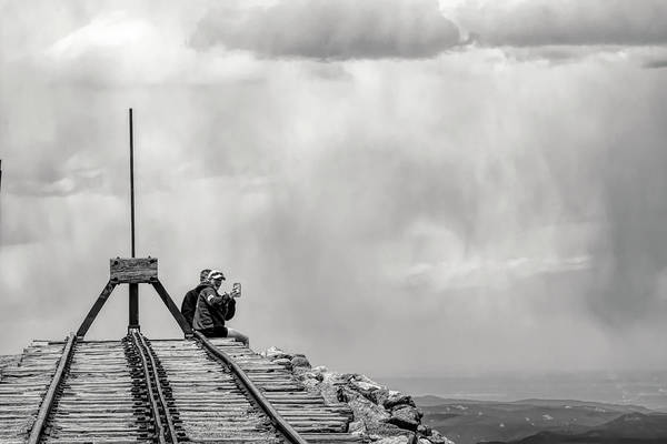 Photograph - Selfie High In The Mountains by Dan Friend