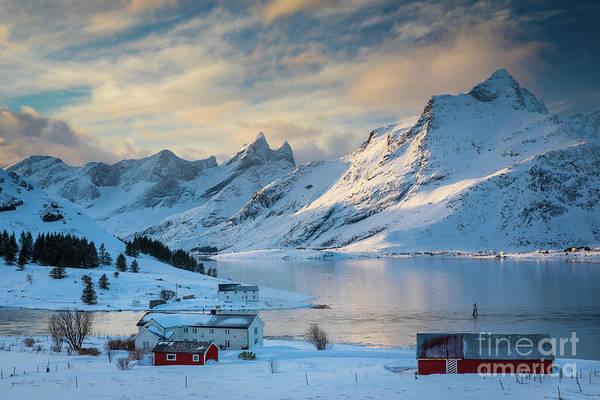 Wall Art - Photograph - Selfjorden by Inge Johnsson
