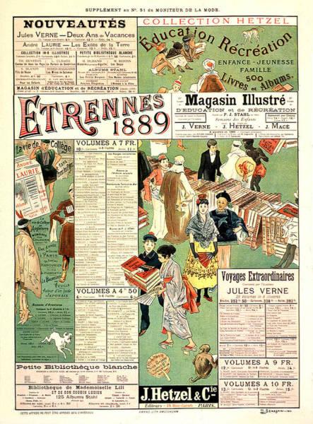 Mixed Media - Semeghini Defendi 1889 Vintage French Advertising by Vintage French Advertising