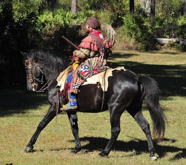 Wall Art - Photograph - Seminole Warrior 1800s by David Lee Thompson