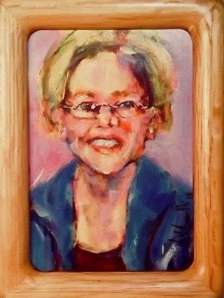 Painting - Senator by Les Leffingwell
