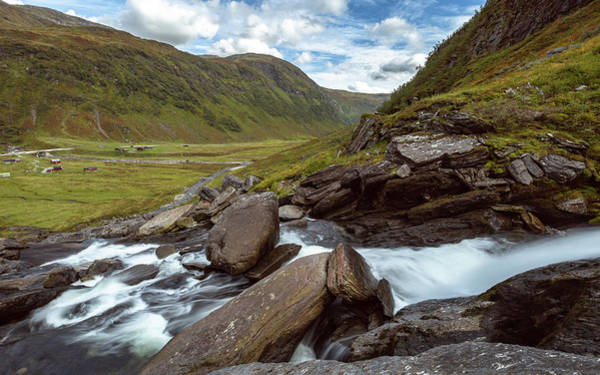 Photograph - Sendefossen, Norway by Andreas Levi
