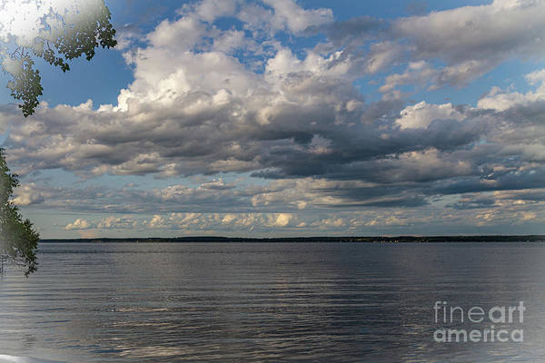 Wall Art - Photograph - Seneca Clouds by William Norton
