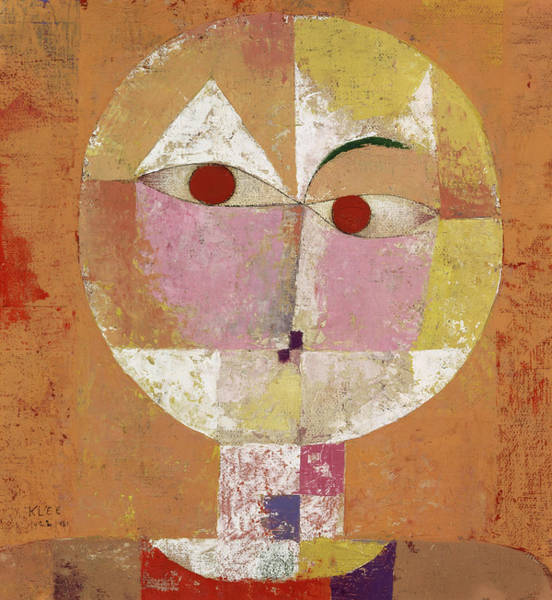 Wall Art - Painting - Senecio, Soon To Be Aged by Paul Klee