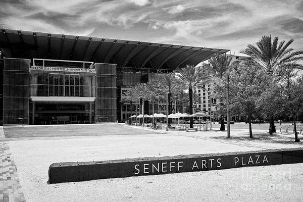Wall Art - Photograph - Seneff Arts Plaza And The Dr Phillips Center Orlando Florida Usa by Joe Fox