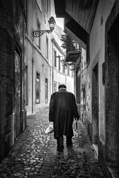 Wall Art - Photograph - Senior In Mouraria by Carlos Caetano
