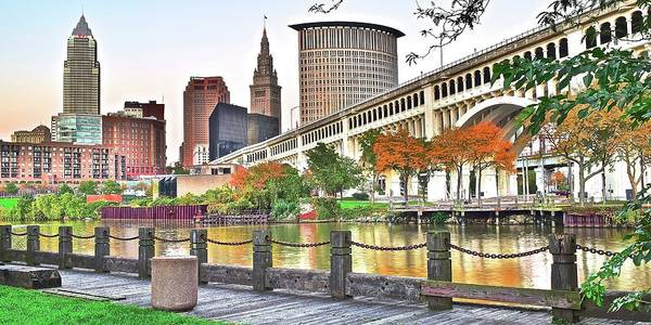 Wall Art - Photograph - Sensational Autumn Day In Cle by Frozen in Time Fine Art Photography
