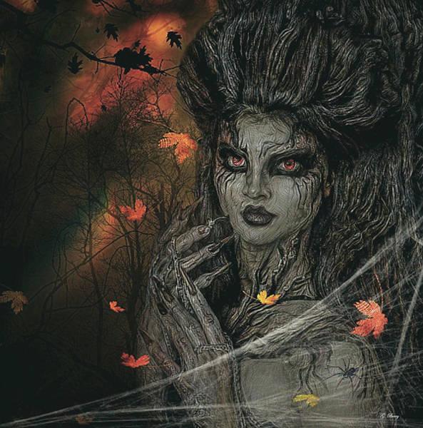 Wall Art - Mixed Media - Sensually Haunted Tree by G Berry
