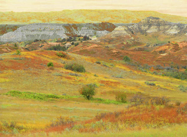 Photograph - September In The Realm Of West Dakota by Cris Fulton