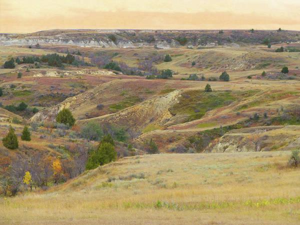Photograph - September Reverie Of The Prairie Edge by Cris Fulton
