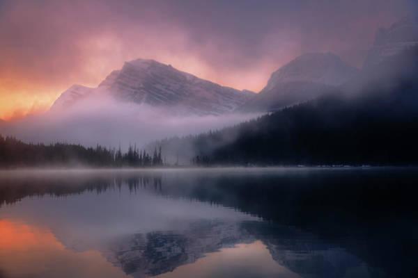 Photograph - September Sunrise Banff by Dan Jurak