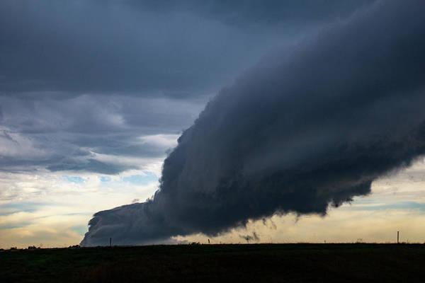 Photograph - September Thunderstorms 003 by NebraskaSC