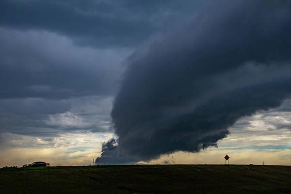 Photograph - September Thunderstorms 004 by NebraskaSC