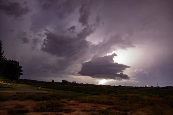 Photograph - September Thunderstorms 006 by NebraskaSC
