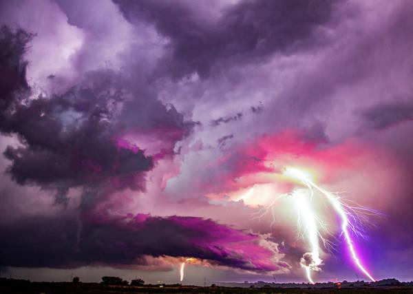 Photograph - September Thunderstorms 014 by NebraskaSC