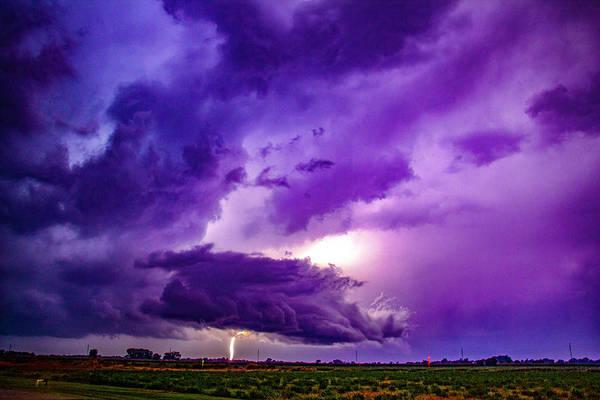 Photograph - September Thunderstorms 015 by NebraskaSC