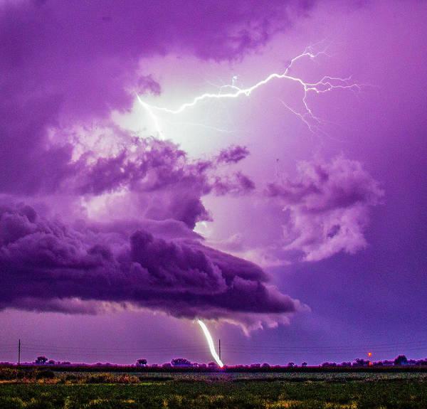 Photograph - September Thunderstorms 021 by NebraskaSC