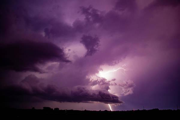Photograph - September Thunderstorms 022 by NebraskaSC