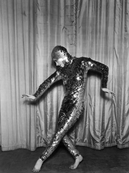 Suit Photograph - Sequin Suit by Sasha