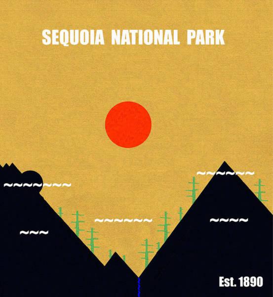 Wall Art - Mixed Media - Sequoia N. P. M Series by David Lee Thompson