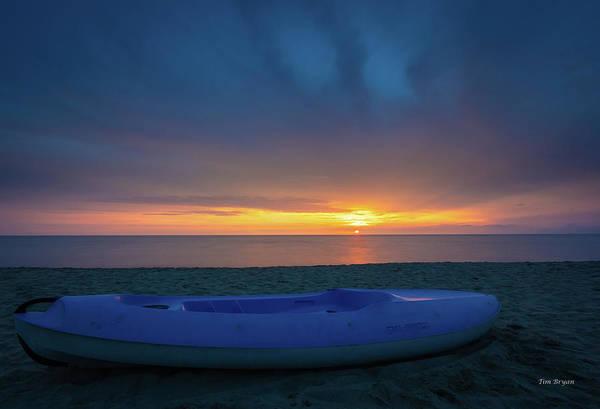 Photograph - Serata Blu Sul Mare by Tim Bryan