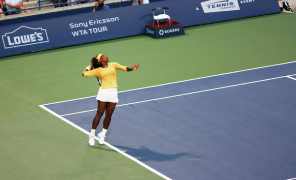 Photograph - Serena Williams  by Nick Mares