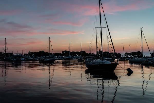 Photograph - Serene Harbor Sun Rise  by Sven Brogren