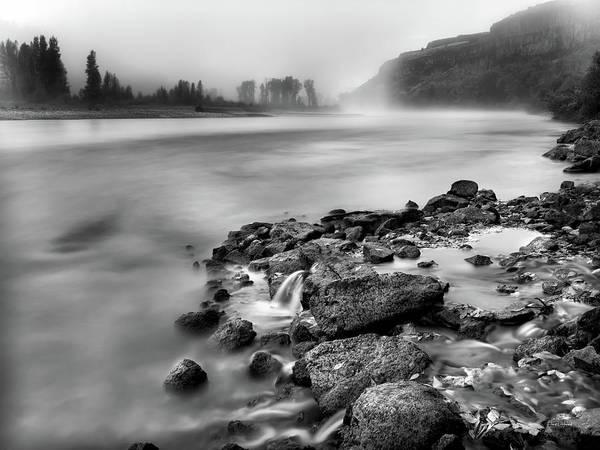 Eloquent Wall Art - Photograph - Serene River by Leland D Howard