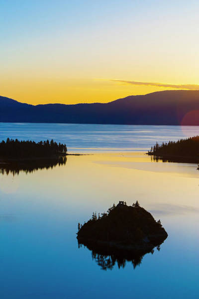 Lake Tahoe Photograph - Serene Sunrise At Lake Tahoe by Stuart Dee