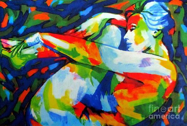 Painting - Serene Woman by Helena Wierzbicki