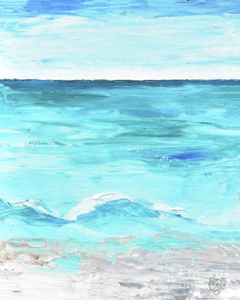 Painting - Rolling Waves 2 by Christine Dekkers