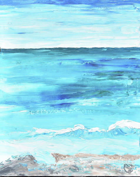 Painting - Blue Sea by Christine Dekkers