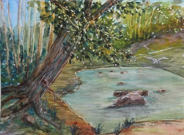 Painting - Serenity by Florence Ferrandino