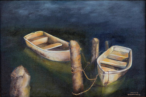 Painting - Serenity by Nancy Strahinic