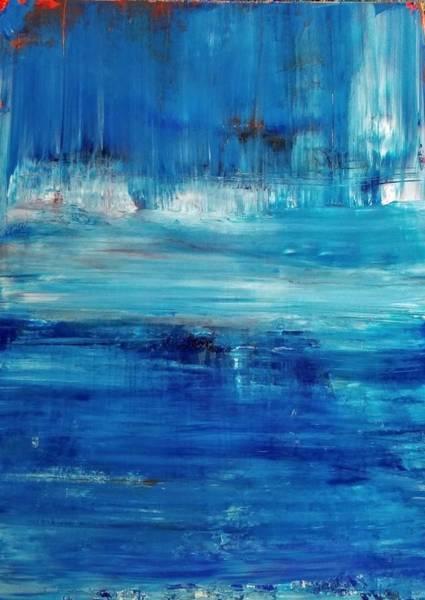 Wall Art - Painting - Serenity by Tanya Lozano Abstract Expressionism
