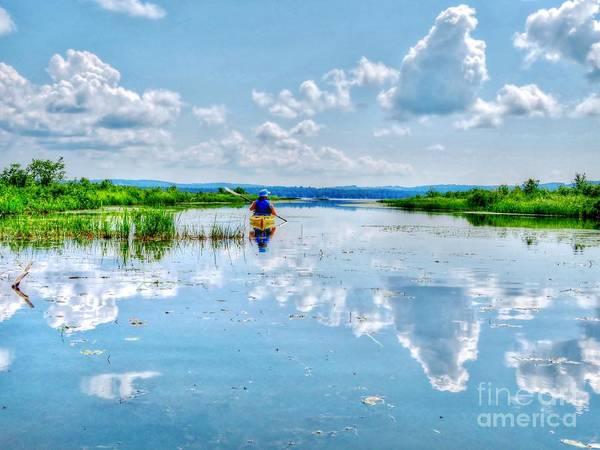 Madawaska Lake Photograph - Serenity by Vickie Ketch