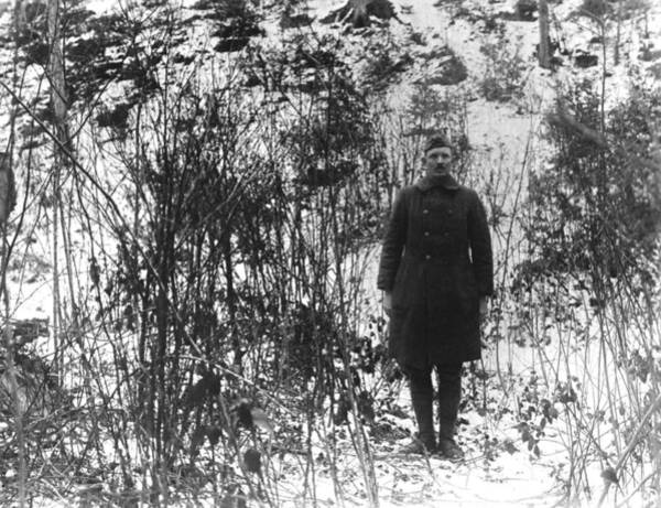 Medal Of Honor Photograph - Sergeant York In The Argonne Forest - 1919 by War Is Hell Store