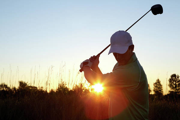 Practice Photograph - Serious Golfer by Globalstock